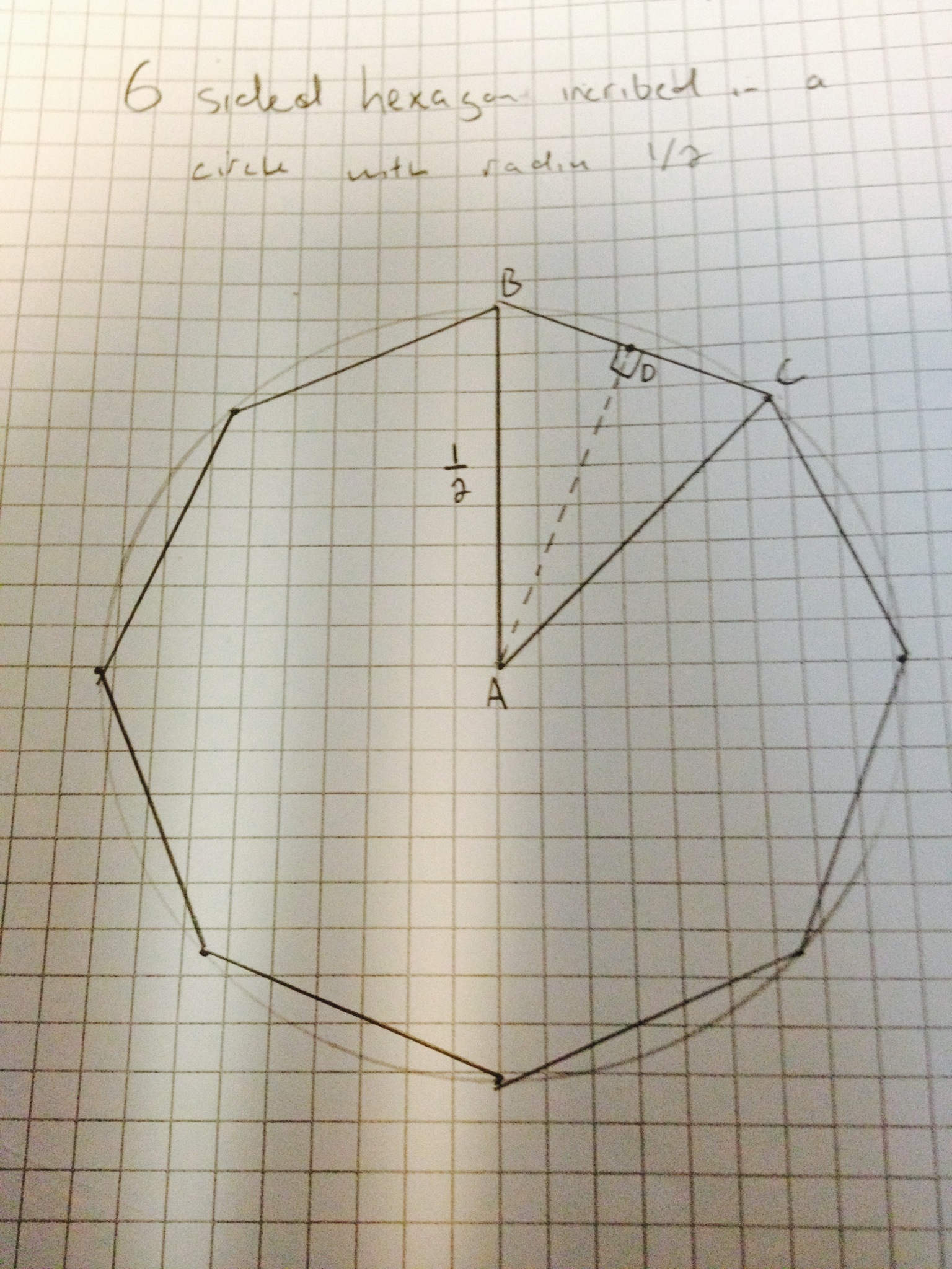 Octagon Regular Decagon Inscribed In A Circle