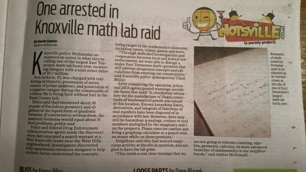 Math Lab raid