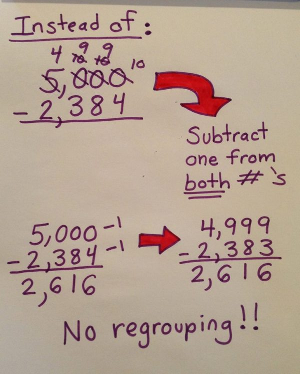 Subtraction Trick 1