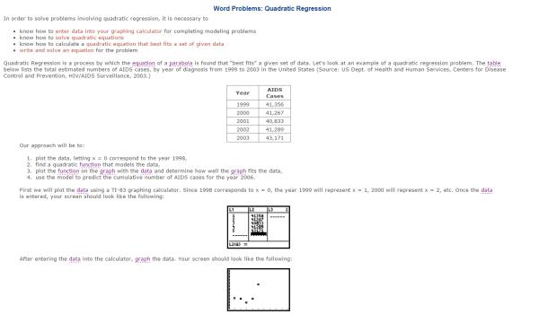 quadraticdata