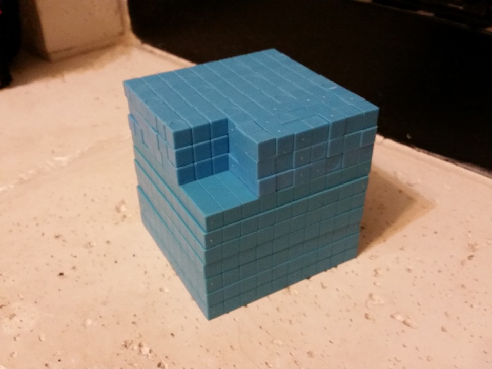 difference of two cubes